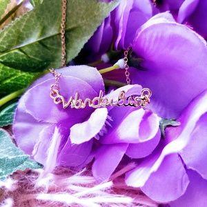 Wanderlust Boho Travellers Gold Necklace